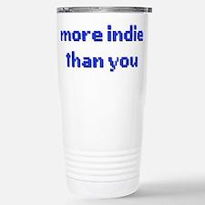 More Indie Than You 8bi Stainless Steel Travel Mug