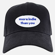 More Indie Than You 8bit Blue Baseball Hat
