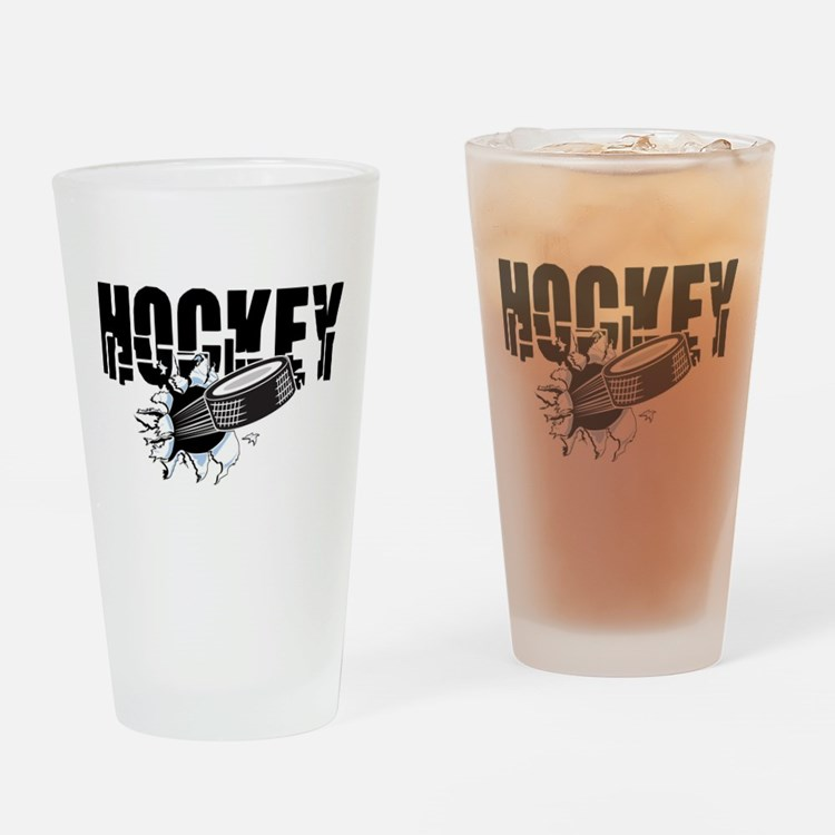hockey101bigrectangle.png Drinking Glass