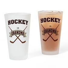 hockey132light.png Drinking Glass