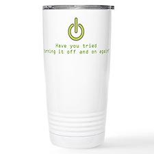 Cute Geek Travel Mug