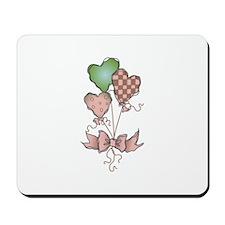HEART BALLOONS Mousepad