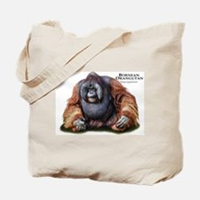 Bornean Orangutan Tote Bag