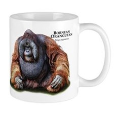 Bornean Orangutan Small Mug
