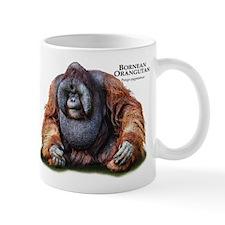 Bornean Orangutan Small Mugs
