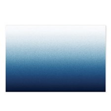 Beautiful Indigo Blue Ombre Postcards (Package of