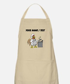Custom Chicken Flipping Eggs Apron