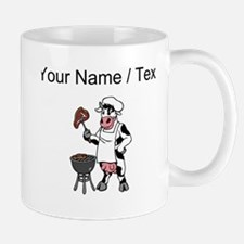 Custom Cow Grilling Steak Mugs