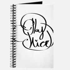 Play nice Journal