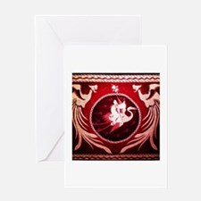 Phoenix Tapestry Greeting Cards