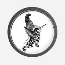 Griffin Profile Image Wall Clock