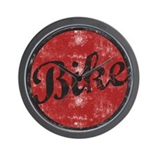 bike1light.png Wall Clock