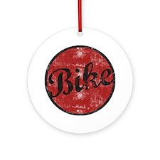bike1light.png Ornament (Round)