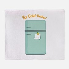 IceBox_IceColdBaby! Throw Blanket