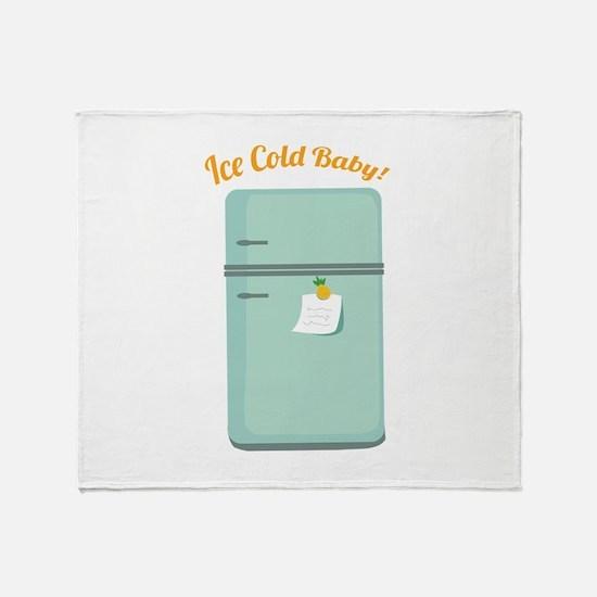 IceBox_IceColdBaby! Throw Blanket
