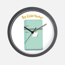 IceBox_IceColdBaby! Wall Clock