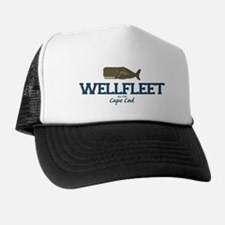 Wellfleet - Cape Cod Massachusetts. Trucker Hat