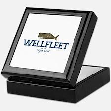 Wellfleet - Cape Cod Massachusetts. Keepsake Box