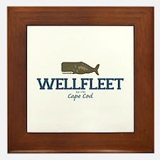 Wellfleet - Cape Cod Massachusetts. Framed Tile