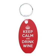 Cute Red wine Keychains