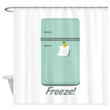 IceBox_Freeze! Shower Curtain