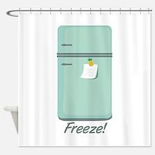 IceBox_Freeze! Shower Curtain