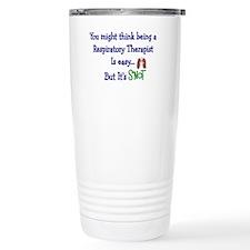 Cool Respiratory therapist Travel Mug
