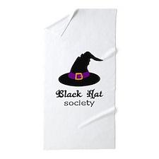 BLACK HAT SOCIETY Beach Towel