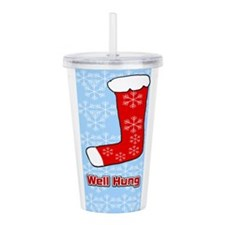 Well Hung Stocking Acrylic Double-wall Tumbler