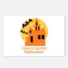 Haunted Halloween Postcards (Package of 8)
