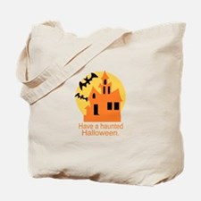 Haunted Halloween Tote Bag