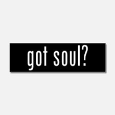 got soul? Car Magnet 10 x 3