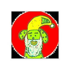 Bearded Santa Dog for Donaldus 47 Sticker