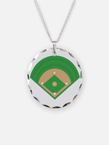BaseballField_Base Necklace