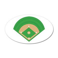 BaseballField_Base Wall Decal