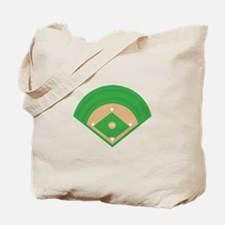 BaseballField_Base Tote Bag