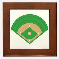 BaseballField_Base Framed Tile