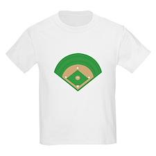 BaseballField_Base T-Shirt