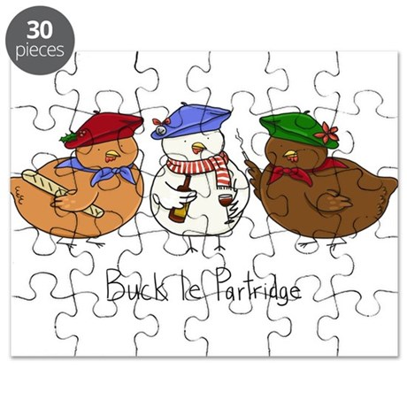 Three French Hens Puzzle By TwigglesSweeney
