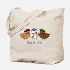 Three French Hens Tote Bag