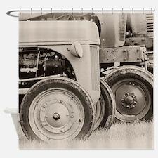 Farm Tractors Shower Curtain