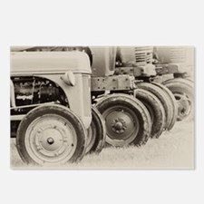 Farm Tractors Postcards (Package of 8)