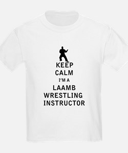 Keep Calm I'm a Laamb Wrestling Instructor T-Shirt
