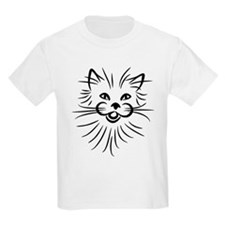 Long hair attack cat T-Shirt