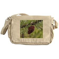 Pine Cone Messenger Bag