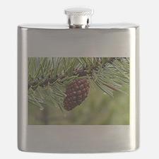 Pine Cone Flask