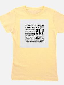 Cute Speech language pathology Girl's Tee