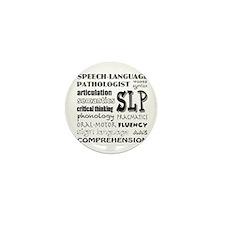 Cute Speech language pathology Mini Button