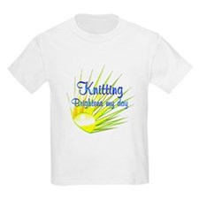 Knitting Brightens T-Shirt