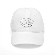 1 Cat Naps Baseball Baseball Cap